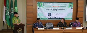 Workshop Peningkatan dan Pengembangan Kompetensi Pedagogik dan Profesional Seorang Dosen